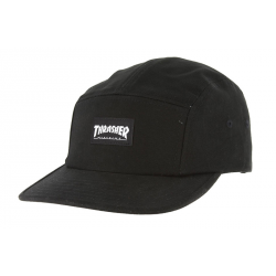 CASQUETTE THRASHER CAP 5PANEL - BLACK