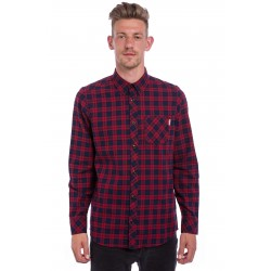 CHEMISE CARHARTT L/S SHAWN CHECK GRAP RINSED