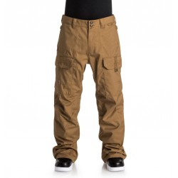 PANT DC SNOWBOARDING CODE 2017 - DULL GOLD (CNE)