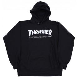 SWEAT THRASHER HOOD SKATE MAG - BLACK