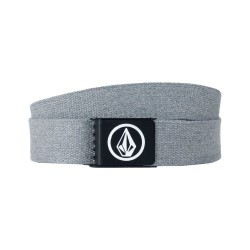 VOLCOM CIRCLE WEB PREMIUM BELT CHARCOAL HEATHER