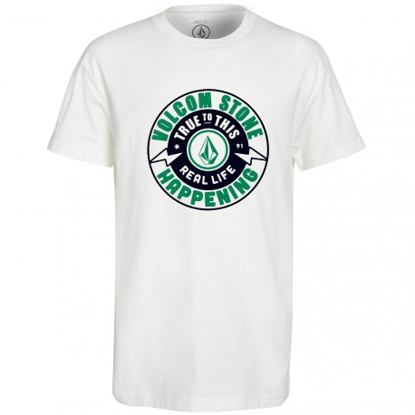 VOLCOM THUNDERBOLT BASIC TEE PAINT KIDS