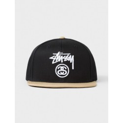 STUSSY STOCK LOCK CAP - BLACK