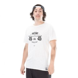 PICTURE ORGANIC T SHIRT ROADEN NATURAL WHITE