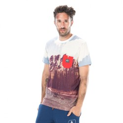PICTURE ORGANIC T SHIRT DOWN THE RIVER NATURAL WHITE