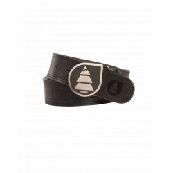 PICTURE ORGANIC LEATHER BELT BLACK