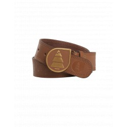 PICTURE ORGANIC LEATHER BELT BROWN