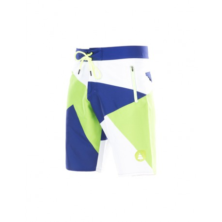 PICTURE ORGANIC BOARDSHORT REDWOOD FLUO/GREEN/BLUE/WHITE