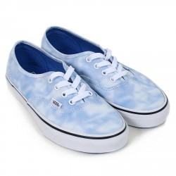 SHOES VANS AUTHENTIC - TIE DYE PALACE BLUE