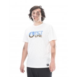 PICTURE ORGANIC T SHIRT BASEMENT TWO PINES WHITE