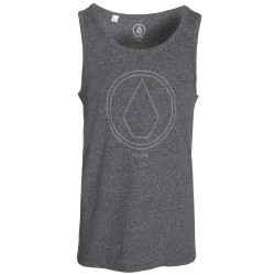DEBARDEUR VOLCOM PINLINE STONE - HEATHER BLACK