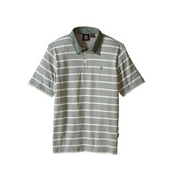 POLO VOLCOM WOWZER STRIPE - GREEN