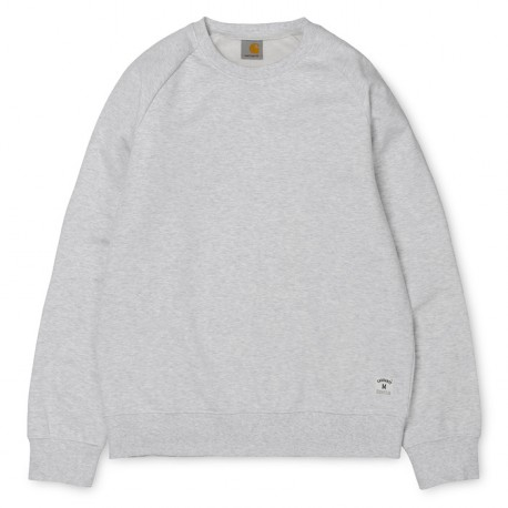 SWEAT CARHARTT WIP HOLBROOK - ASH HEATHER