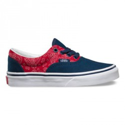 CHAUSSURES VANS KIDS ERA - BANDANA CHILI BLUE