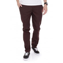 DICKIES SLIM FIT WORK PANT CHOCOLATE BROWN