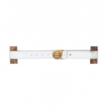 PICTURE ORGANIC LEATHER BELT WHITE