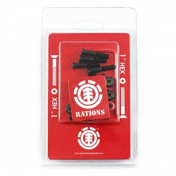ELEMENT HARDWARE VISSERIE RATIONS 1""
