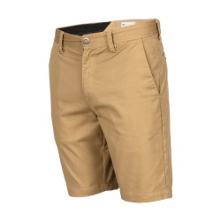 SHORT VOLCOM FRICKIN CHINO KID - DARK KHAKI