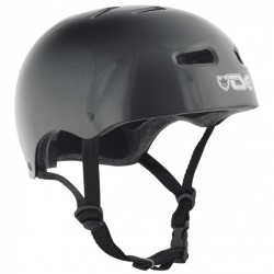 TSG CASQUE SKATE/BMX INJECTED BLACK