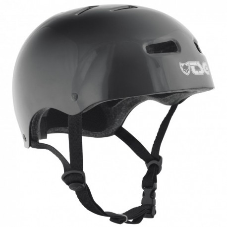 CASQUE TSG SKATE/BMX INJECTED - BLACK