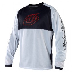 MAILLOT TROY LEE DESIGNS SPRINT JERSEY L WHITE