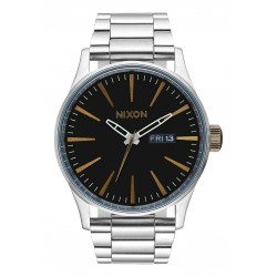 MONTRE NIXON SENTRY SS - BLACK BRASS