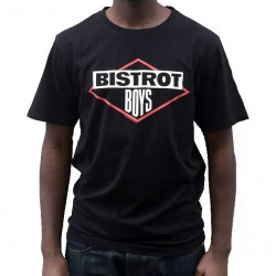 QHUIT T-SHIRT BISTROT BOYS BLACK