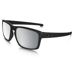 LUNETTES OAKLEY SLIVER - MATTE BLACK / CHROME IRIDIUM