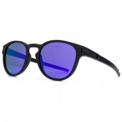 LUNETTES OAKLEY LATCH - MATTE BLACK / VIOLET IRIDIUM