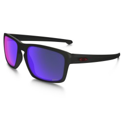 LUNETTE OAKLEY SLIVER - MATTE BLACK / RED IRIDIUM