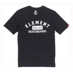 TEE ELEMENT FOR LIFE FLINT BLACK