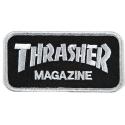 PATCH THRASHER MAG LOGO GREY BLACK
