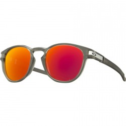 LUNETTES OAKLEY LATCH - MATTE GREY INK/ RUBY IRIDIUM