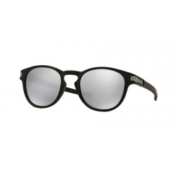 LUNETTES OAKLEY LATCH - MATTE BLACK / CHROME IRIDIUM