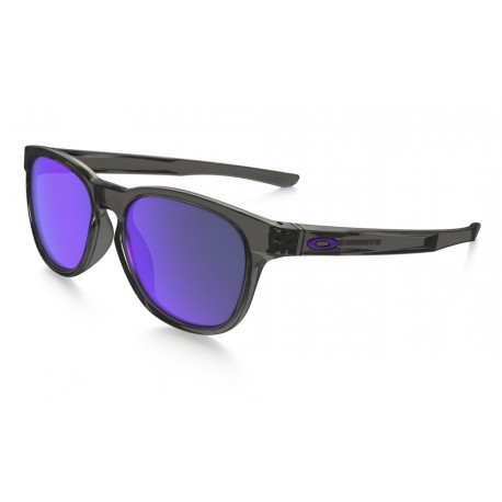 LUNETTES OAKLEY STRINGER GREY SMOKE / VIOLET IRIDIUM