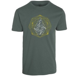 T-SHIRT VOLCOM TONE STONE - GREEN FOREST
