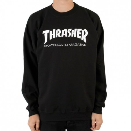 SWEAT THRASHER SKATE MAG - BLACK