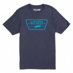 T-SHIRT VANS FULL PATCH BOYS - NAVY / BRIGHT