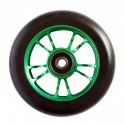 ROUE BLUNT SPOKES 100MM - GREEN