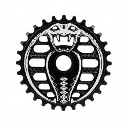 COURONNE SHADOW COBRA SPROCKET 28T - BLACK