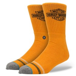 CHAUSSETTES STANCE HARLEY DAVIDSON - OPEN ROAD - ORANGE