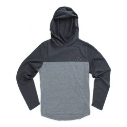 HOODIE VANS MILROY BOYS - CHARCOAL / HEATHER GREY