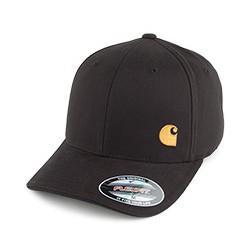 CASQUETTE CARHARTT MATCH CAP - BLACK/GOLD