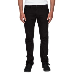 JEANS VOLCOM VORTA DENIM TAPERED - BLACK ON BLACK