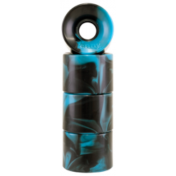 ROUES PENNY CRUISER 59MM 83A - SWIRL BLUE / BLACK