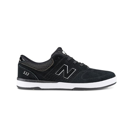 CHAUSSURES NEW BALANCE NUMERIC NM533 - BLACK WHITE