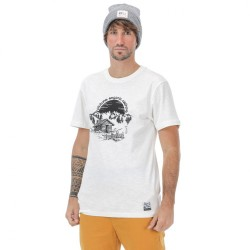 T-SHIRT PICTURE ORGANIC CABIN SS - WHITE