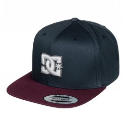 CASQUETTE DC SHOES SNAPPY - LICORICE (KTF0)