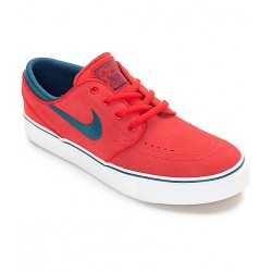 CHAUSSURE NIKE JANOSKI GS KIDS - UNIVERSITY RED/MIDNIGHT TURQUOISE