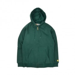 SWEAT CARHARTT CHASE ZIP - CONIFER